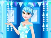 تصميم فستان حفلة الأميرة اونا