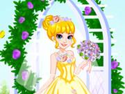 فستان زفاف الأميرة آنا
