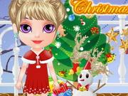 ازياء عيد الميلاد للطفلة هالين