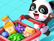 سوبر ماركت الباندا الصغير- العاب سوبر ماركت اطفال