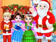 الطفلة تايلور يوم عيد الكريسماس