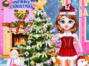 الطفلة تايلور كريسماس سعيد