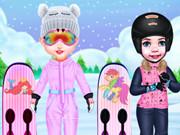 تلبيس ملابس رياضية- العاب رياضة لوح التزلج