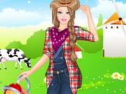 الفتاة المزارعة