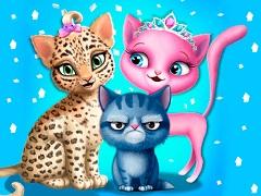 صالون تجميل القطط فقط من قسم العاب بنات