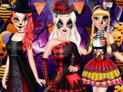 اميرة ديزني في حفلة عيد الرعب