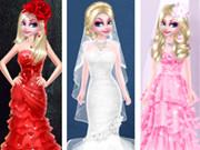 السا ستايل فستان الزواج المختلف