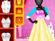 فاشن ستوديو فستان ملكة الثلج