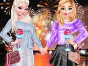 الأخوات المجمدة عشية رأس السنة الجديدة