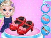 تصميم حذاء الحفلة