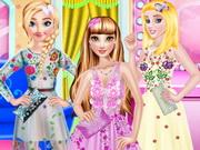 فستان الأميرة في نمط تول