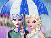 حب في يوم المطر