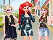 تلبيس بنات في الشارع عرض ازياء