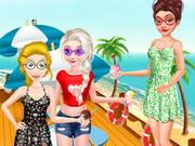 عطلة الصيف علي شاطيء البحر