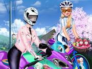 الدراجة الهوائية ضد الدراجة النارية