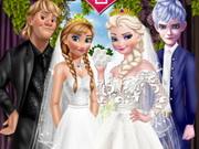 الاخوات ملابس الزفاف
