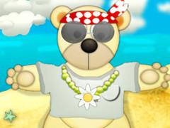 الدب تيدي ملابس الصيف