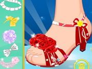 تصميم أحذية حورية البحر